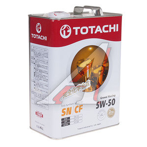 Масло моторное GRAND RACING синт.4л TOTACHI TOTACHI SAE5W-50