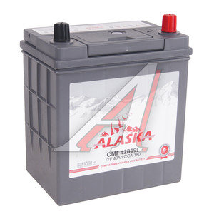 Аккумулятор ALASKA CMF silver+ 40А/ч обратная полярность 6СТ40 42B19L, 42B19L