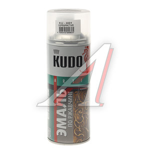Краска по ржавчине серебристая аэрозоль 520мл KUDO KUDO KU-3001, KU-3001