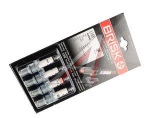 Свеча зажигания ВАЗ-2101-07 BRISK L15Y CLASSIK комплект L15Y, 2101-3707000-02