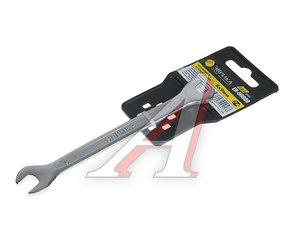 Ключ рожковый 8х9мм CrV Pro ЭВРИКА ER-50809