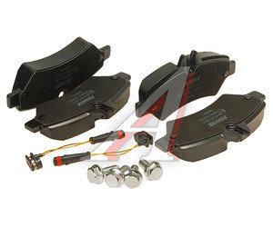 Колодки тормозные MERCEDES Sprinter (06-) VW Crafter 30-50 (06-) задние (4шт.) FENOX BP43120, GDB1697, A0084205120