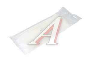 Хомут-стяжка 200х3.0 пластик белый (100шт.) CT-200х3.0