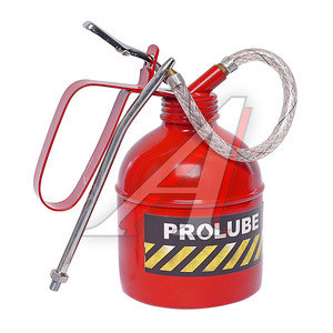 Масленка заправочная рычажная 500мл металлическая (трубка+шланг) PROLUBE PROLUBE PL-41433, PL-41433,
