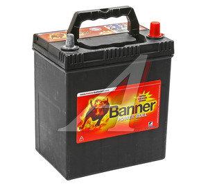 Аккумулятор BANNER Power Bull 40А/ч обратная полярность 6СТ40 P40 26, 83439,