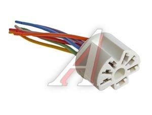 Колодка разъема ВАЗ-2108-12 переключателя отопителя, кондиционера с проводом АЭНК 2108, 9037