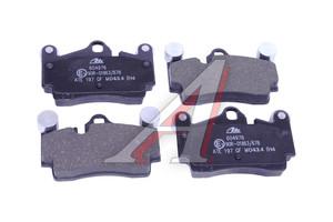 Колодки тормозные VW Touareg AUDI Q7 PORSCHE Cayenne задние (4шт.) ATE 13.0460-4976.2, GDB1652, 7L0698451 A