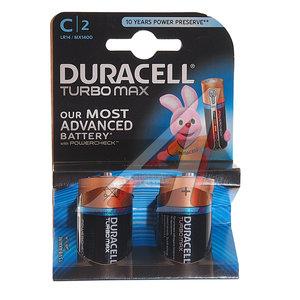 Батарейка C LR14 1.5V Alkaline Turbo блистер (2шт.) DURACELL D-LR14Tбл