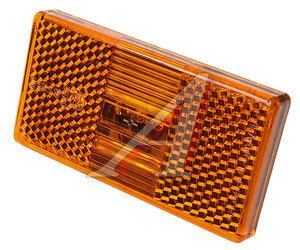 Фонарь габаритный ПАЗ (оранжевый 12/24V,AMP) АЭК 50.3731-02,