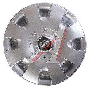 Колпак колеса R-15 декоративный серый комплект 4шт. универсальный 304 R-15