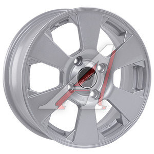 Диск колесный литой DAEWOO Gentra CHEVROLET Lacetti R15 КС-718 Сильвер K&K 4х114,3 ЕТ44 D-56,6