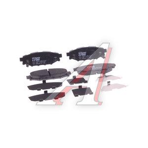 Колодки тормозные SUBARU Forester (10-),Impreza (10-14) задние (4шт.) TRW GDB3568, 0 986 494 444, 26696-AG031/26696-AG051