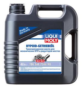 Масло трансмиссионное TS HYPOID-GETRIEBEOIL GL-4/5 п/синт.4л LIQUI MOLY LM SAE75W90 3939, 84207