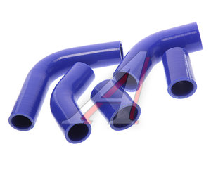 Патрубок УАЗ-3160 Патриот 100л.с. радиатора комплект 5шт. синий силикон 3302-1303000