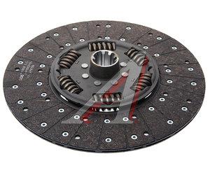 Диск сцепления КАМАЗ-ЕВРО (КПП-ZF) MFZ-430 (усиленный 205) SACHS 1878085641, 1878006893, 491878085641