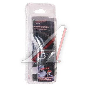 Ручка на рычаг КПП хром/черный TORINO 05753, HJ-188BK