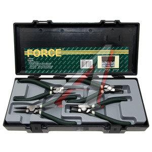 Съемник колец стопорных набор 4 предмета FORCE F-5043A, 5043A