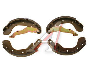 Колодки тормозные CHEVROLET Aveo (03-08) задние барабанные (4шт.) DAEWOO 93740252, GS8760