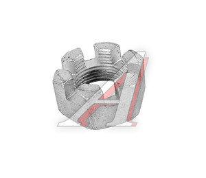 Гайка М22х1.5 пальца рулевого Н/О УРАЛ (ОАО АЗ УРАЛ) 334933 П29, 334933-П29