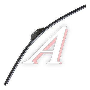 Щетка стеклоочистителя 600мм беcкаркасная (крепление крючок) Super Flat Graphit ALCA AL-054, 054000