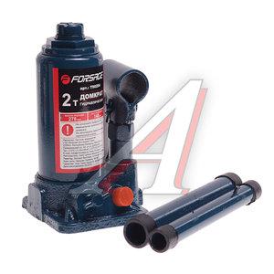 Домкрат бутылочный 2т 160-340мм 2-х плунжерный FORSAGE TF0202, FS-TF0202