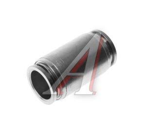 Соединитель трубки ПВХ,полиамид d=16мм прямой металлический MPUC16, АТ-0391