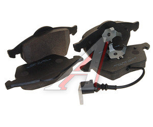 Колодки тормозные AUDI 100 (91-94),А6 (95-97) передние (4шт.) HSB HP9471, GDB1049, 4B0698151A