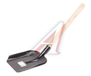 Лопата совковая малая с деревянным черенком 88105,