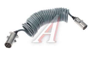 Провод электрический прицепа LE FLEX электровод 7м серый АВТОТОРГ LE FLEX (1х1мм+6х0,75мм), 897002 с