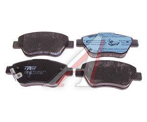 Колодки тормозные FIAT Albea (03-),Grande Punto (05-) OPEL Corsa D (06-) передние (4шт.) TRW GDB1700, 1605359