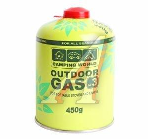 Газ бутан 450г резьбовой OUTDOOR 381865