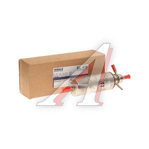 Фильтр топливный MERCEDES ML (W163) MAHLE KL438, A1634770801