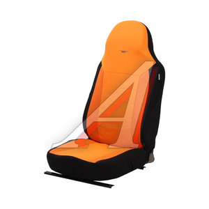 Авточехлы универсальные полиэстр (L) черно-оранжевые (AIRBAG 3 молнии 7 предм.) Antares PSV 122150 PSV