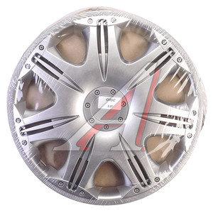 Колпак колеса R-15 декоративный серый комплект 4шт. ОПУС ОПУС R-15