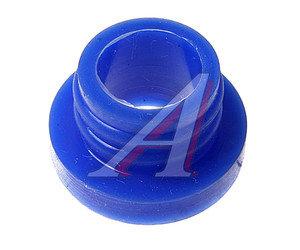 Втулка КАМАЗ уплотнительной головки цилиндра синий силикон ТРАНССНАБ 740.1003214
