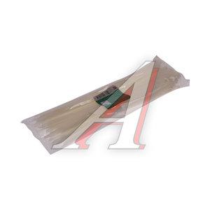Хомут-стяжка 400х8.0 пластик белый (100шт.) FORTISFLEX 1008400, 50011