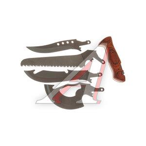 Набор туристический (пила, топор, нож, чехол) СЛЕДОПЫТ PF-TSP-C01