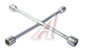 Ключ баллонный крестообразный 17х19х21х22мм MATRIX 14257