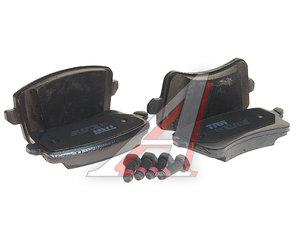 Колодки тормозные AUDI Q5 (08-) задние (4шт.) TRW GDB2000, 8K0698451C