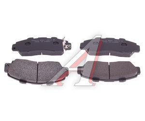 Колодки тормозные HONDA Accord (91-98),CR-V (95-02) передние (4шт.) HSB HP2010, GDB3177, 45022-S10-A00