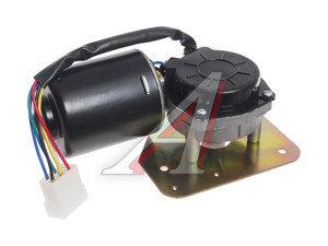 Мотор-редуктор стеклоочистителя МАЗ в сборе с площадкой 13.5205100, 13.5305100-02