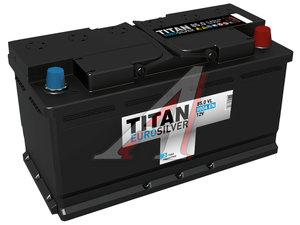 Аккумулятор ТИТАН Euro Silver 85А/ч обратная полярность, низкий 6СТ85