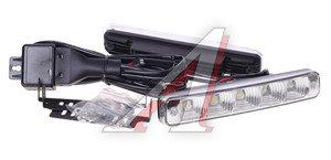 Огни ходовые дневного света LED 5 светодиодов 12-24V 5000K 400Кд 190х30х40мм XENITE LC-1019, 1001010