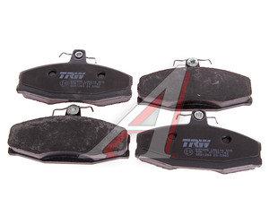 Колодки тормозные SKODA Felicia (94-01) передние (4шт.) TRW GDB1280, 6U0698151/115430285/115430261/004532247A