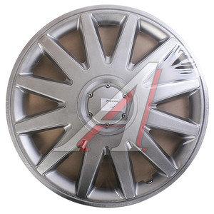 Колпак колеса R-16 декоративный серый комплект 4шт. ЭЛЕГАНТ ЭЛЕГАНТ R-16