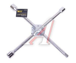 "Ключ баллонный крестообразный 17х19х21мм 1/2"" L=380мм усиленный FIT FIT-62760, 62760"