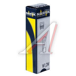 Лампа 24V W1.2W бесцокольная NARVA 17040, N-17040, А24-1,2