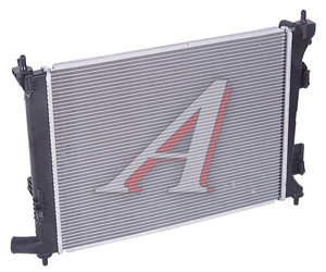 Радиатор HYUNDAI Solaris KIA Rio (11-) МКПП (уценка) OE 25310-1R000
