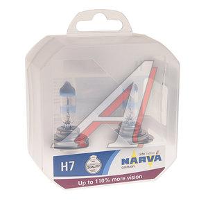 Лампа 12V H7 55W +110% PX26d (2шт.) Range Power NARVA 48062RPH2, N-48062RPH2, АКГ 12-55 (Н7)