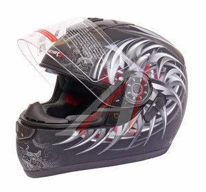 Шлем мото (интеграл) MICHIRU (с солнцезащитным стеклом) MI 166 Тип 16 S, 4627072925510